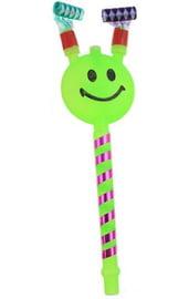 Зеленый язычок-гудок Смайл
