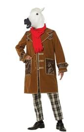 Взрослый костюм Конь в пальто
