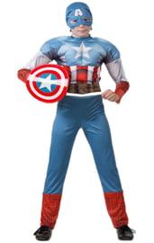 Костюм храброго Капитана Америки