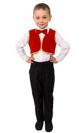 Детский красный жилет