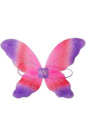 Детские розово-фиолетовые крылья