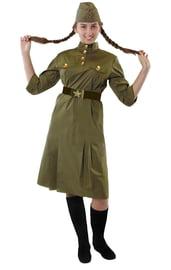 Взрослый костюм военной ВОВ