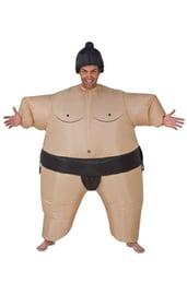 Взрослый надувной костюм Сумоиста