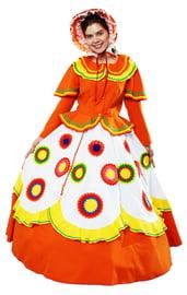 Взрослый костюм Дымковской игрушки
