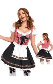 Костюм прекрасной баварской официантки