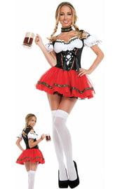 Костюм задорной баварской официантки