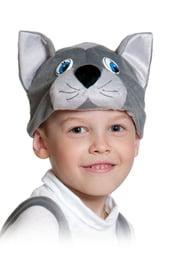 Плюшевая маска Серого Котика