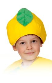Детская шапка Лимон