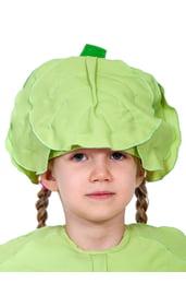 Детская шапка Капуста