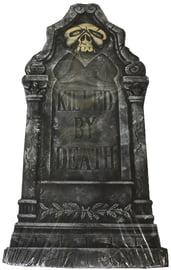 Декоративное надгробие с черепом