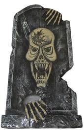 Декоративное надгробие Страшный скелет