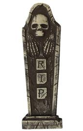 Надгробие Череп с руками RIP