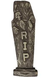 Декоративное надгробие Скелет