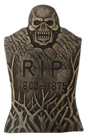 Декоративное надгробие с ветвями