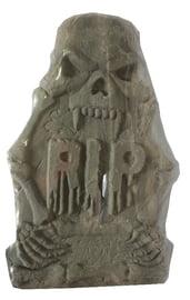 Надгробие Жуткий скелет