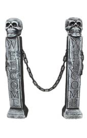 Декор Ворота на кладбище