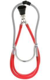Красный стетоскоп медсестры