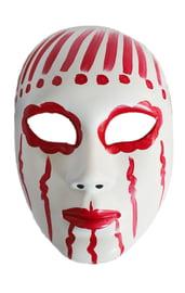 Красно-белая маска