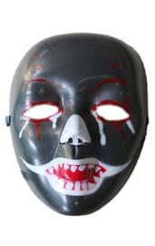 Черная маска клоуна