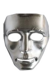 Серебряная маска Лицо