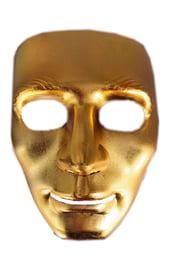 Золотая маска Лицо