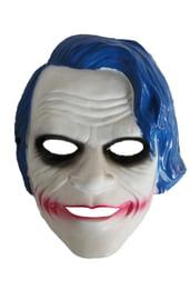 Маска Джокера с синими волосами