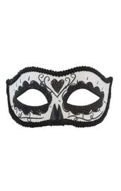 Черная маска День Мертвых