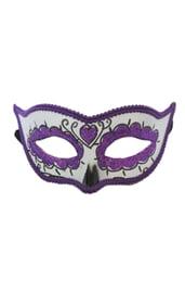 Фиолетовая маска День Мертвых
