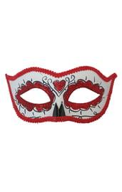 Красная маска День Мертвых