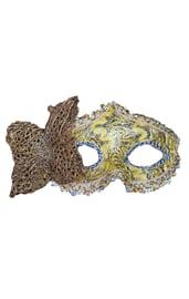 Золотая маска с бабочкой