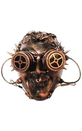 Бронзовая маска Стимпанк в очках