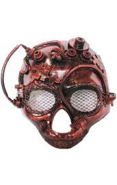 Бронзовая маска черепа Стиманк