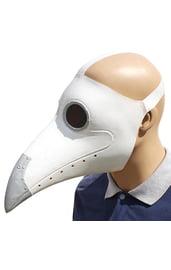 Белая маска чумного доктора