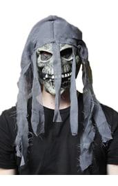 Маска скелета с банданой