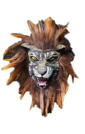 Маска льва с гривой