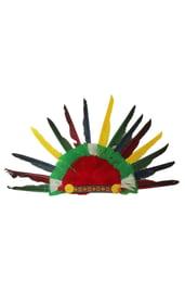 Детский головной убор индейца
