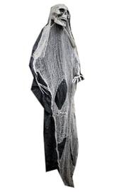 Декорация Скелет в черно-белом балахоне