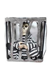 Декорация Скелет в клетке