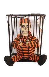 Декорация Узник в клетке оранжевый