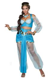 Костюм Жасмин в голубом