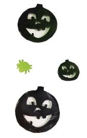 Наклейки Черные тыквы
