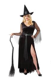 Костюм Черной ведьмы PLUS