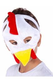 Детская маска петуха