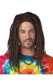 Мужской парик с дредами