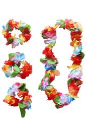 Цветочный гавайский набор