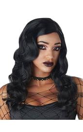 Черный парик ведьмы