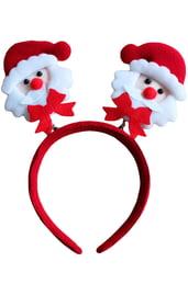 Новогодний ободок с Дедом Морозом
