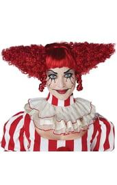 Красный парик злого клоуна