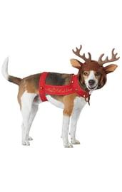 Костюм оленя для собак