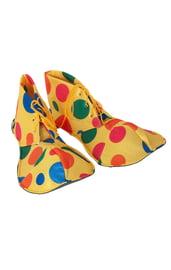 Разноцветные ботинки клоуна